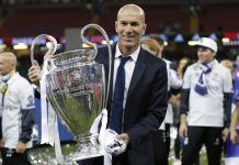 zinedine zidane champions league 2017 real madrid